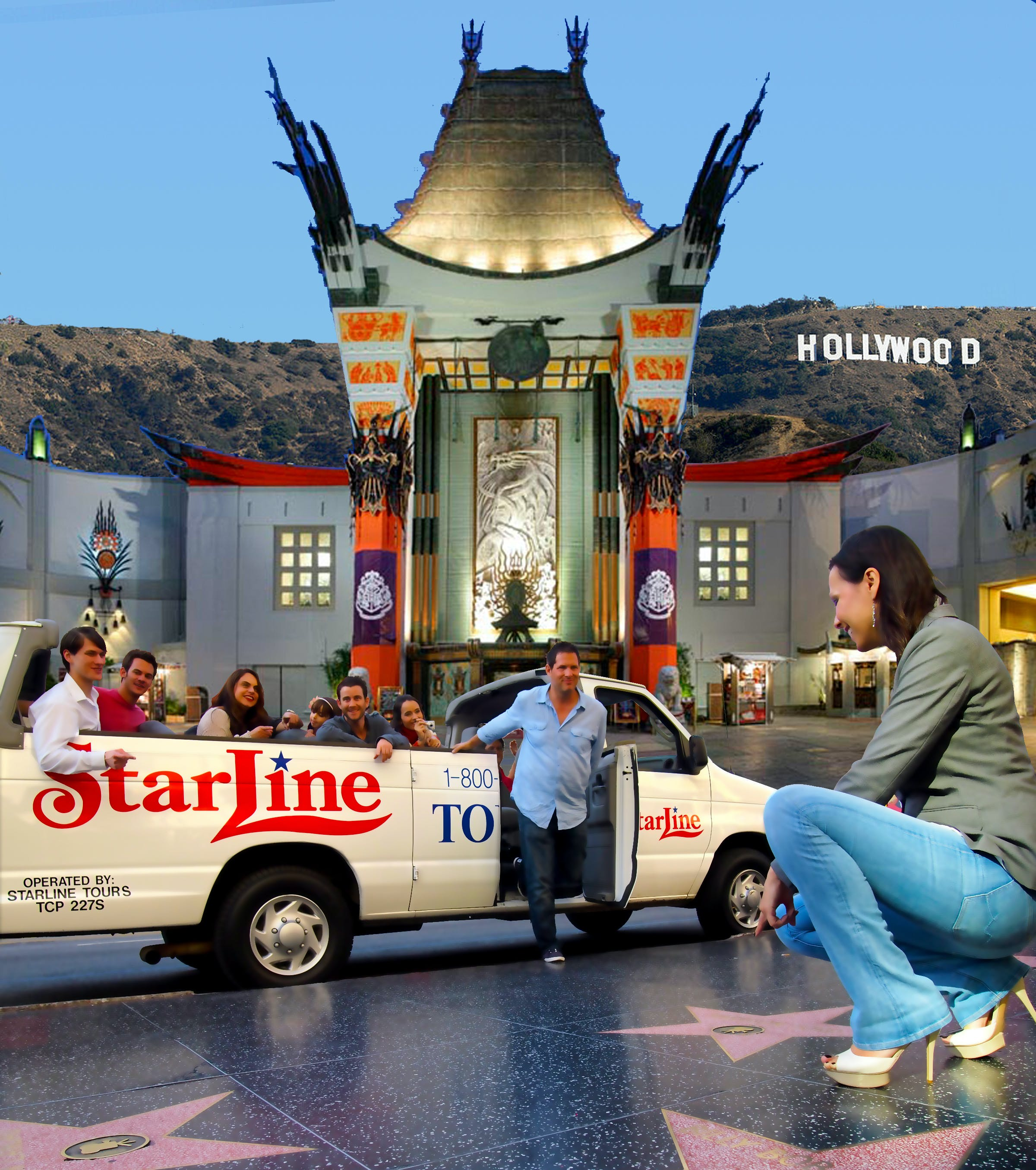 Hollywood stars homes locations