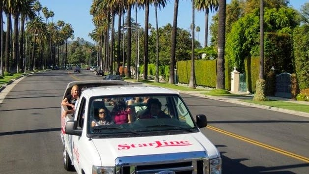 Celebrity homes rodeo drive shopping tour starline tours for Celebrity homes tour la