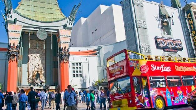 Double Decker Bus Tour Hollywood Ca
