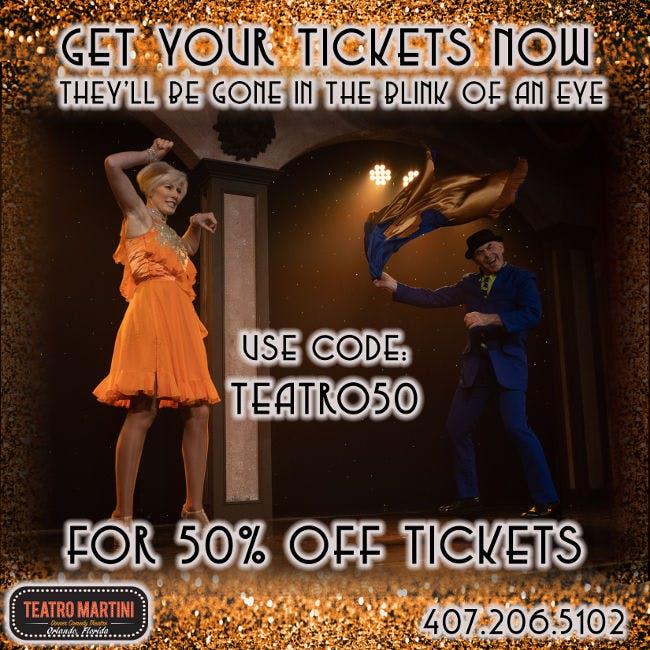Teatro Martini Special Offer