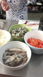 Ingredients for Portuguese Fish Stew Recipe