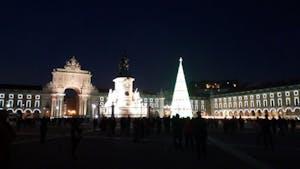 Christmas in Lisbon Portugal