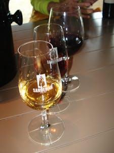 una copa de vino de Port Tours en Portugal