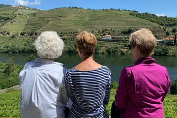 Older Women Hike Douro
