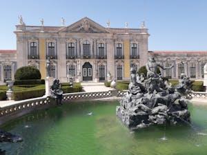 Jardines y Palacio Nacional de Queluz
