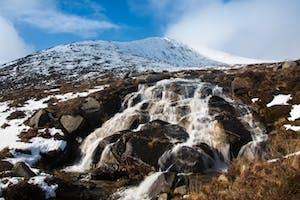 Goatfell waterfall