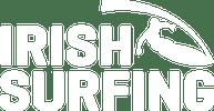 irish surfing association logo white
