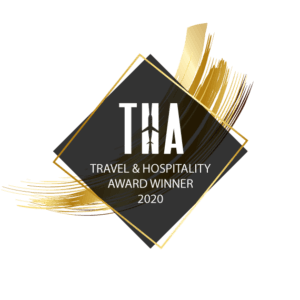 travel and hospitality award winner badge