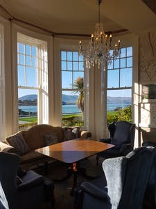 reading room at Parknasilla resort and spa