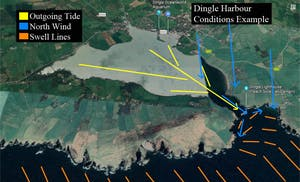 paddle conditions example for Dingle Harbour