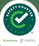 failte ireland covid 19 safety charter logo