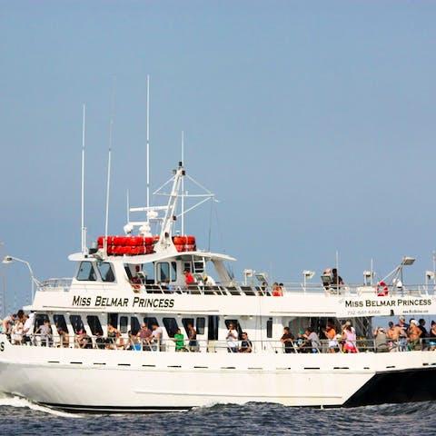 New Jersey's Miss Belmar Princess fishing boat