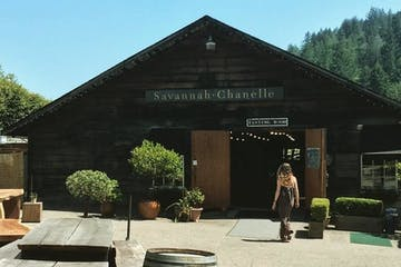 entrance to a winery