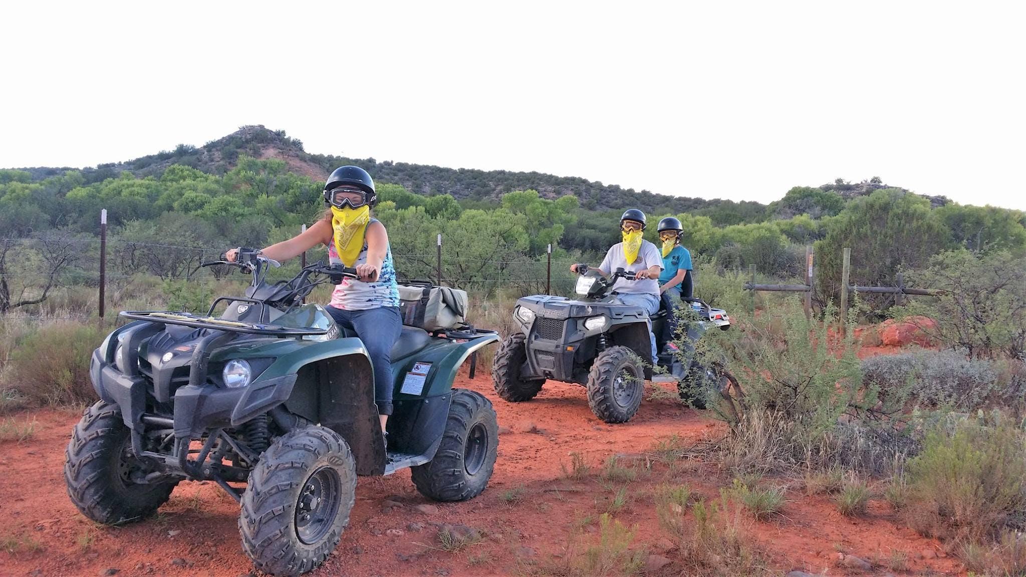 Sunset ATV ride