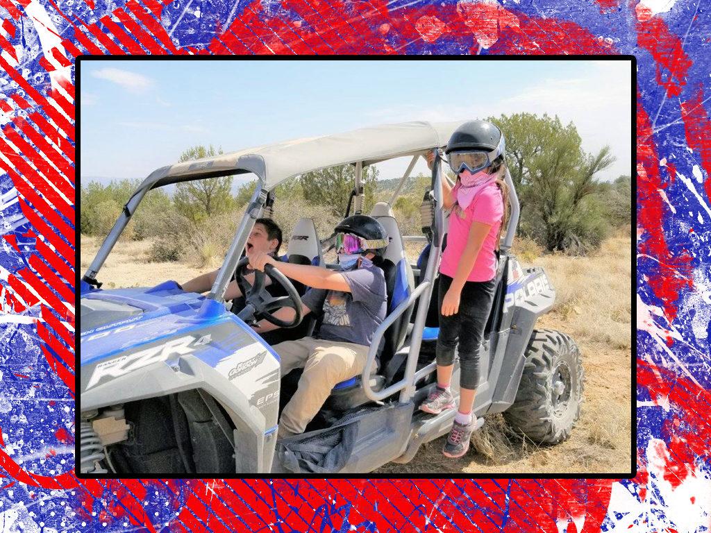 Holiday ATV ride