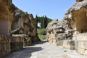 Ruinas en Itálica