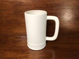 a coffee mug on a table