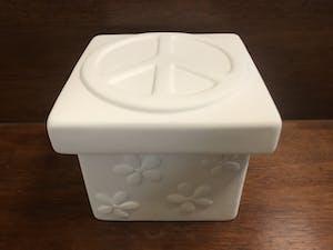 a white bowl
