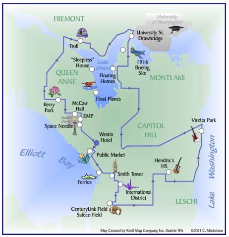90 Minute PreCruise Seattle Sightseeing Tour Seattle Qwik Tour