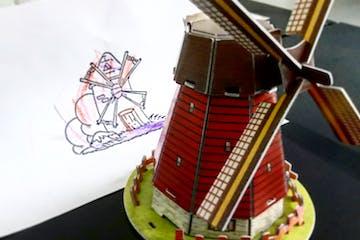 A windmill toy
