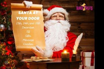 Santa at your door