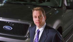 William Clay Ford, Jr. wearing a suit and tie