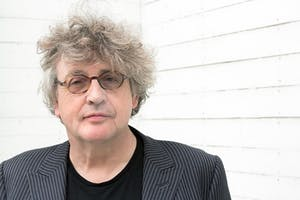 Paul Muldoon posing for the camera