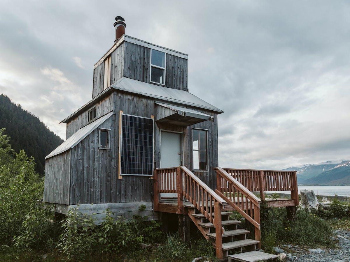 Rocket House - exterior
