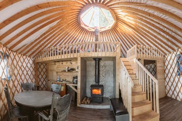 Full Yurt - Interior