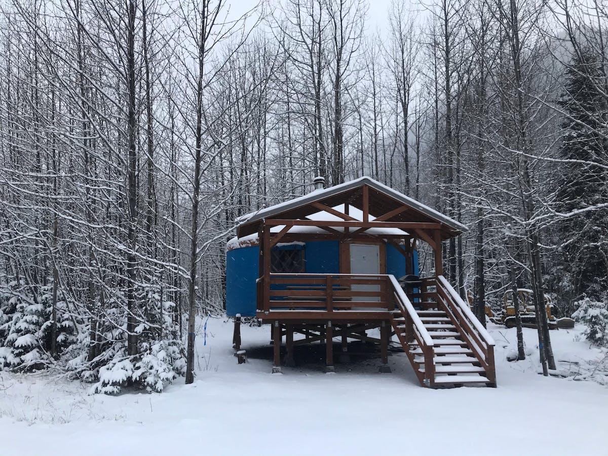 Camping Yurt - Exterior