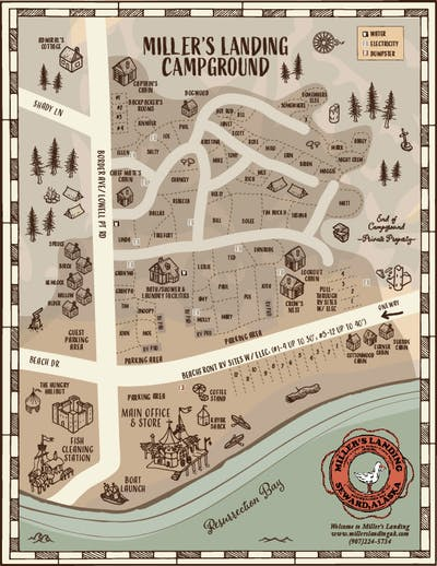 ML Campground Map