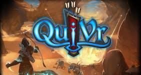 Quivr game logo