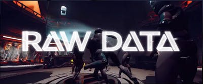 raw data game logo