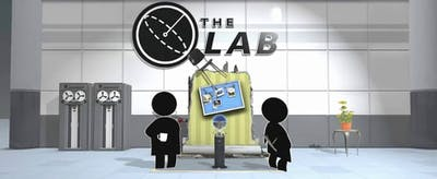 the lab vr game logo