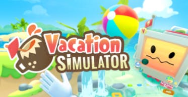 vacation simulator vr game logo