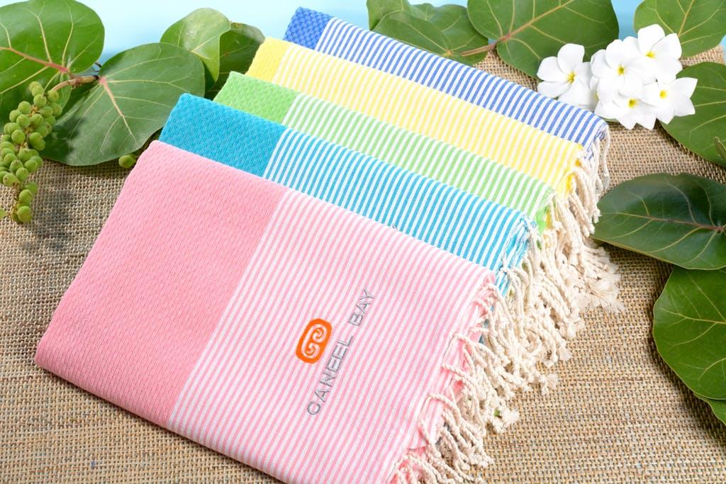 Caneel Bay Turkish towels logo