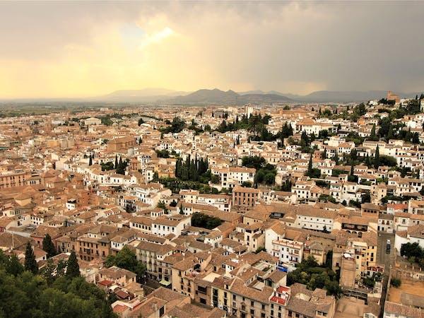 vista aérea de Granada