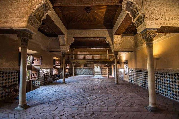 Mexuas en la Alhambra