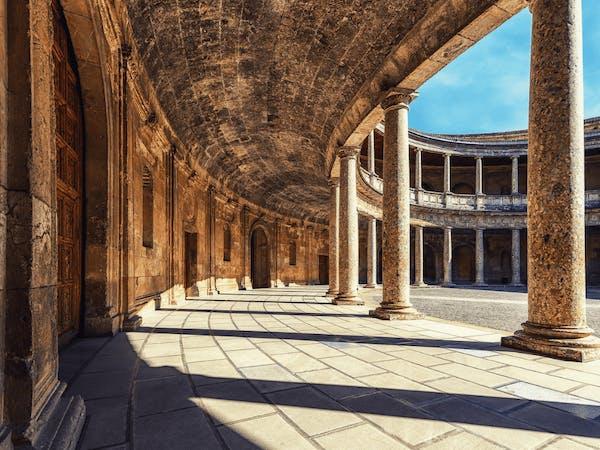 Lugares que visitar en Granada: Palacio de Carlos V