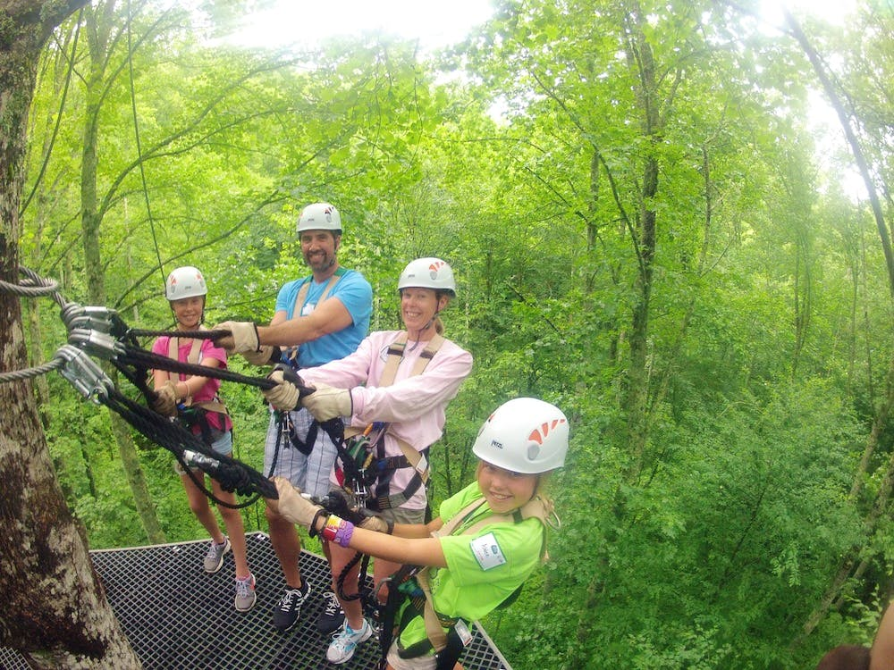 Family Adventure at Highlands Aerial Park