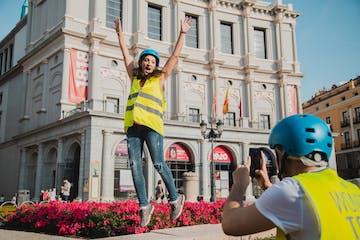 fun segway tour Madrid