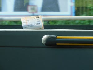 ticket autobús