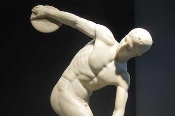 El Discovolo statue