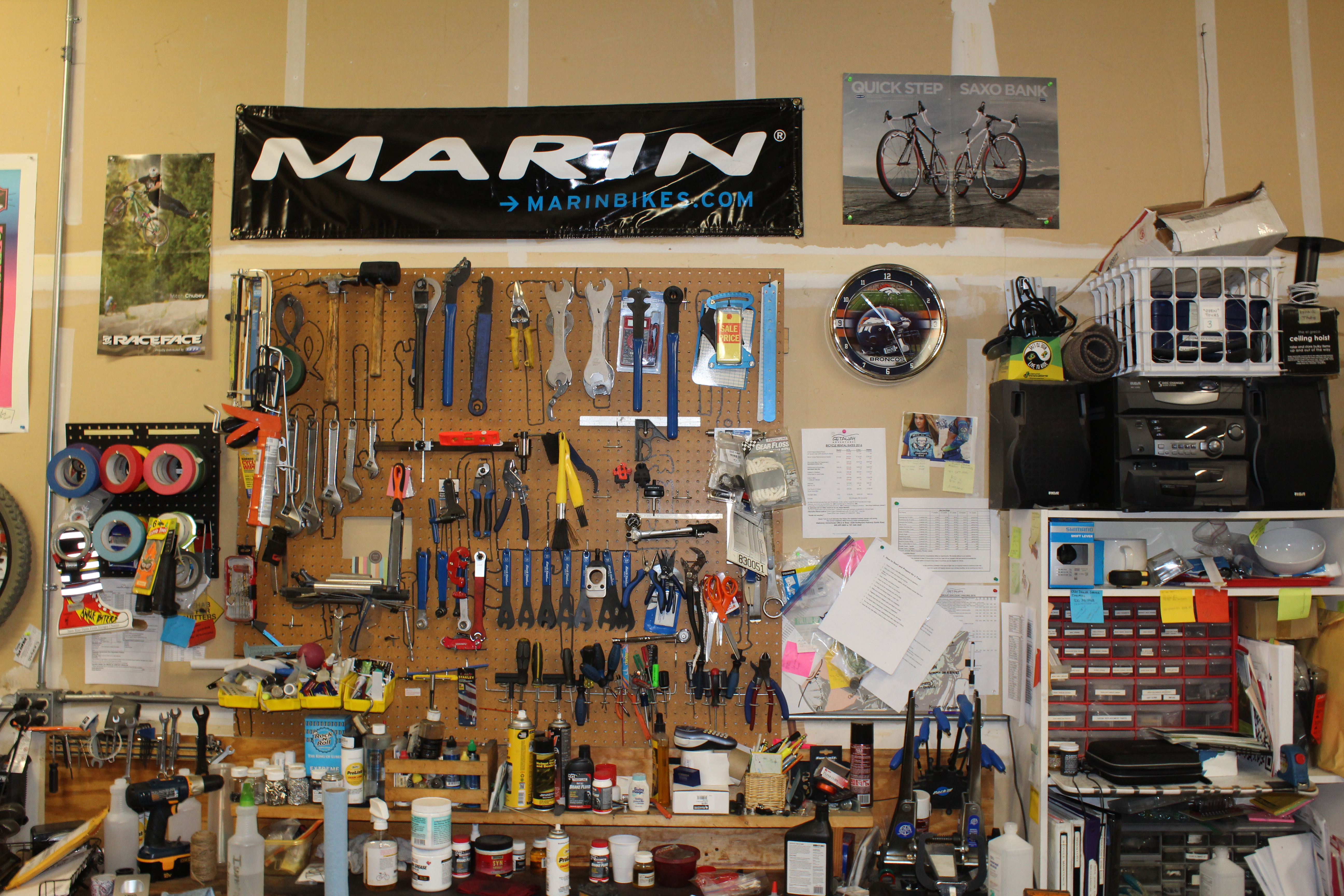 bike work station