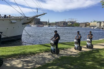 group segway tour in stockholm