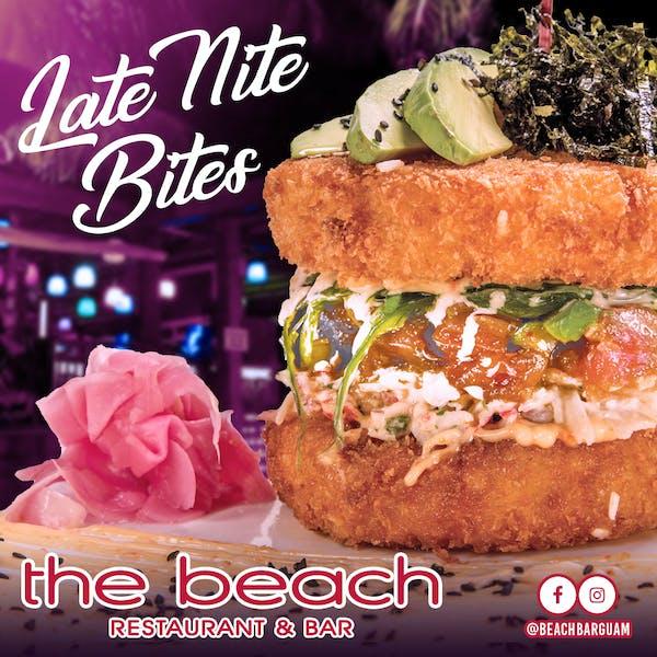 Guam Late Night Bite special menu