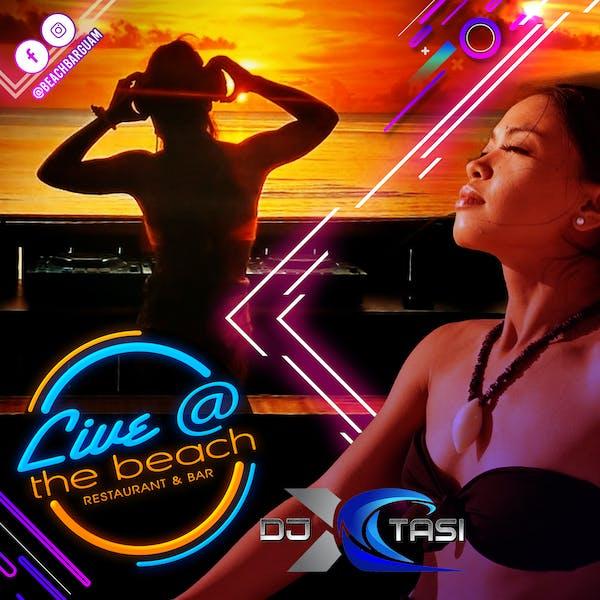 DJ XTASI at The Beach Guam Live Music