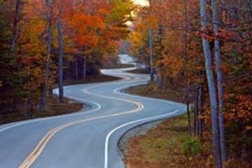 Door County Windy Road