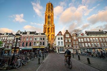 La torre dorada en Utrecht