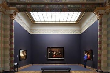 sala azul del Rijksmuseum